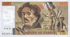 100 Francs Delacroix