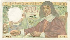 100 Francs Descartes