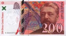 200 Francs  Gustave Eiffel