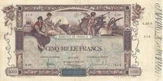 5000 Francs Oeuvre de Flameng
