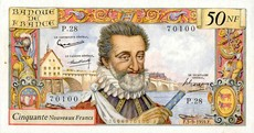 50 Francs Henri IV