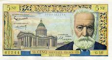 5 Francs Victor Hugo